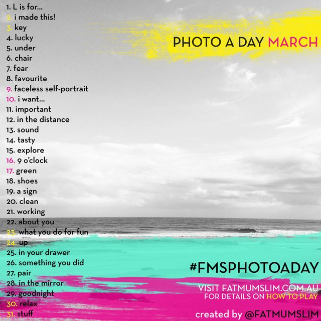 Marchphotoaday