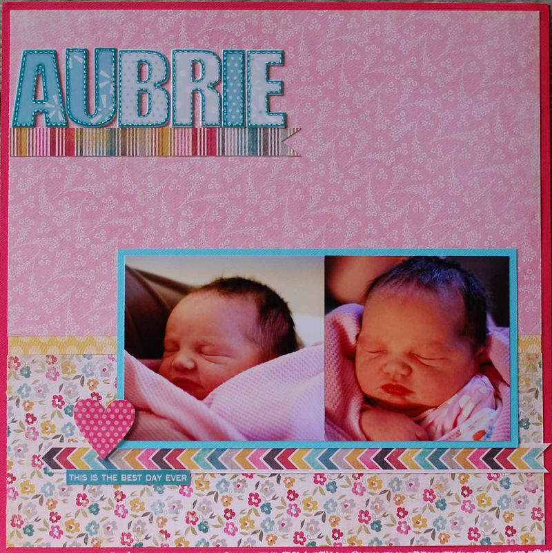 Aubrie best day ever